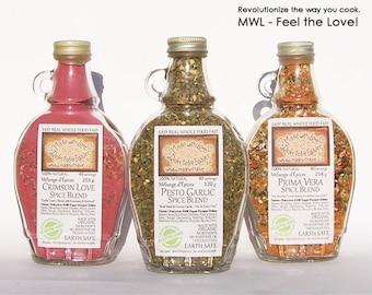 Herb & Spice Blend - Seasoning Mix Organic Herb, Spice and Veggie Blend Salad Dressing Mix Pasta Sauce Mix Artisan Dip Mix - BBQ Grill Rub