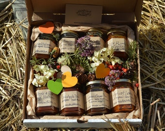Foodie Gift Natural Preserves Old Fashioned Jams Made with Love with Organic Cane Juice Sugar & Locally Grown Handpicked Fruit Jam 110mL