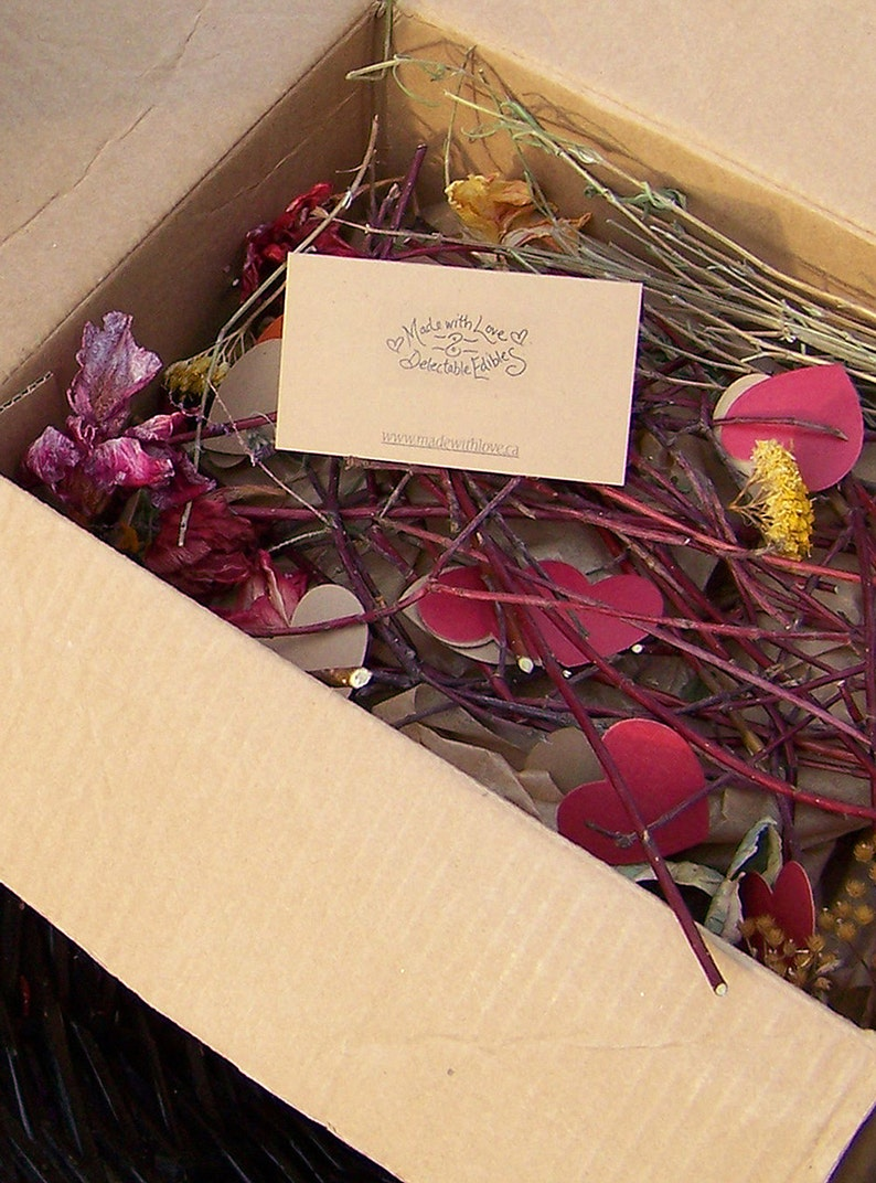 Valentine Food Gift Gourmet Goodies Valentines Gift Box  image 0