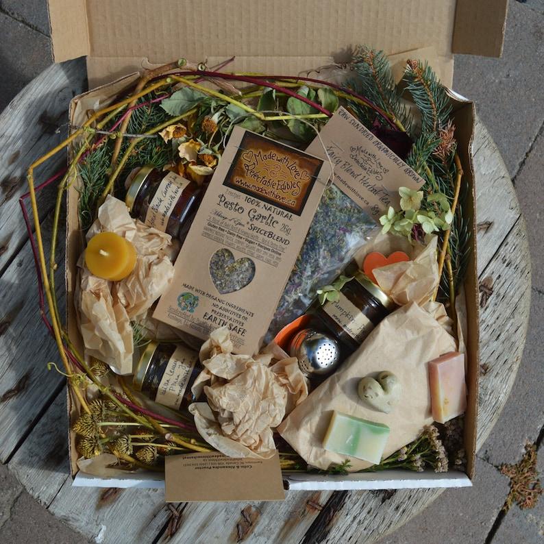 Fairy Love Eco Gift Box Foodie Gourmet Goodies Artisan Jam image 0