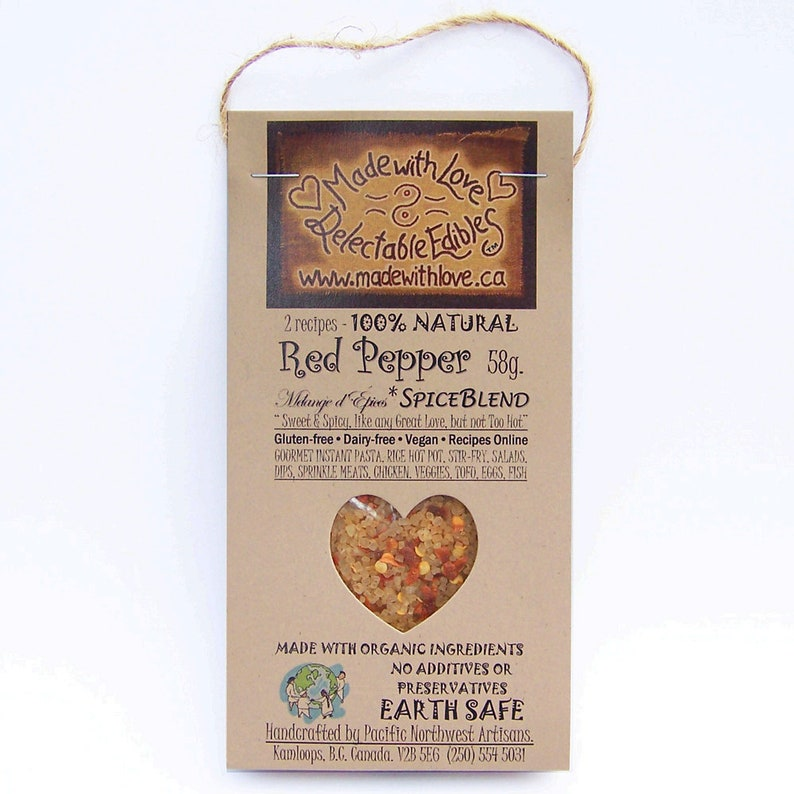 2 oz Red Pepper Artisan Spice Blend  Eco Gourmet 2 oz image 0