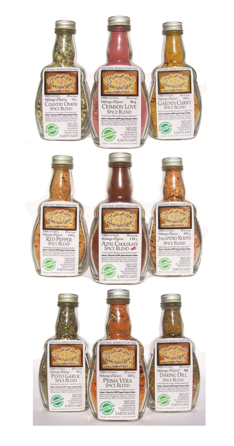 Stock up your Pantry  Any 3 medi-size Spice Blends  Herbs & image 0