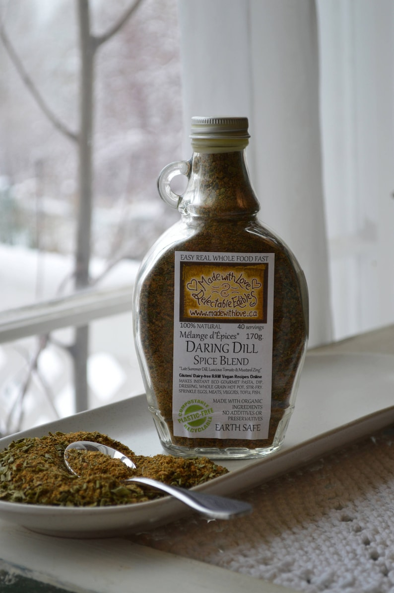 Daring Dill 9oz  Eco Gourmet Artisan Spice Blend  Easy Real image 0