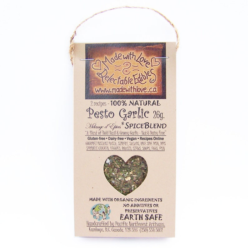 2 oz Pesto Garlic Artisan Spice Blend  Eco Nut-Free / image 0