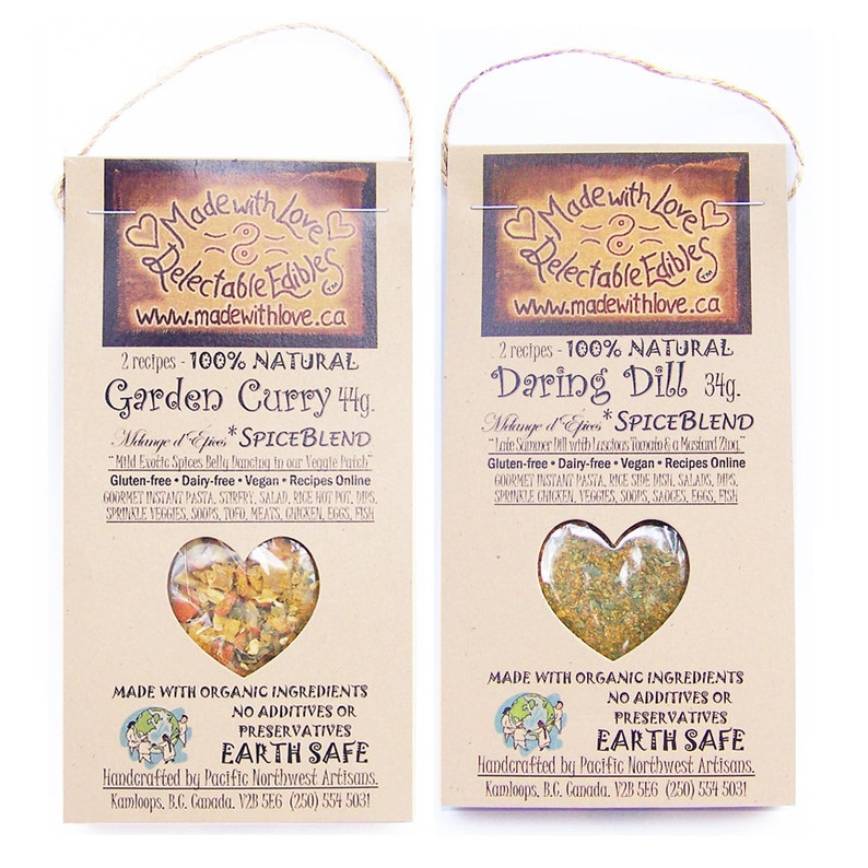 Mix & Match  Any Two Spice Blend Samplers  Eco Gift Set  image 0