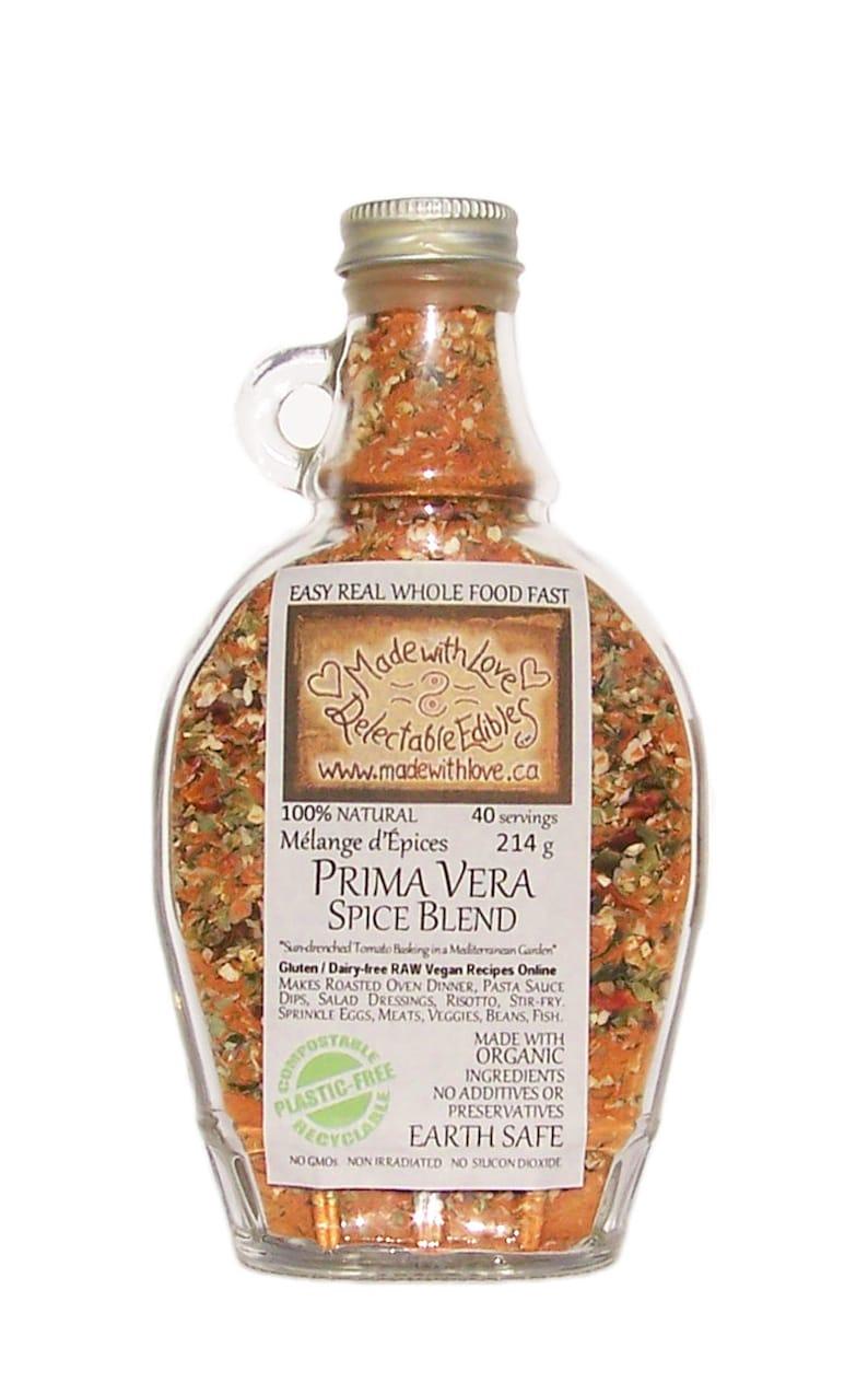 Prima Vera Sun Dried Tomato Spice Blend Artisan Gourmet  9 oz image 0