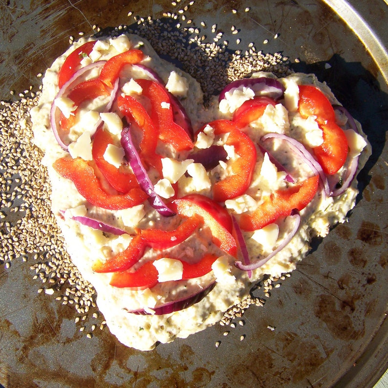Rosemary Focaccia Artisan Bread Mix  Sweet Peppers & Garlic image 0