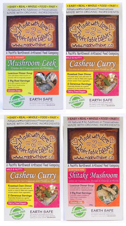 Four Artisan Magic Meals  DIY Soup Mix Gift Set  Stock Pot  image 0
