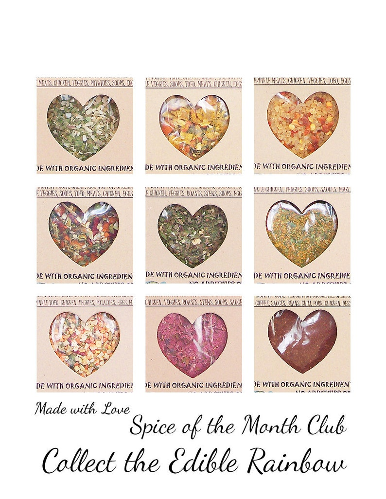 Spice of the Month Club  Collect the Edible Rainbow  Nine image 0