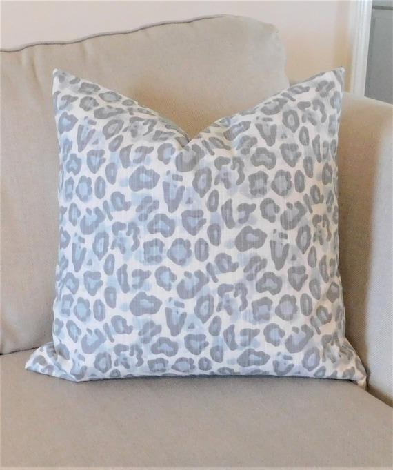 Leopard print pillow   Etsy