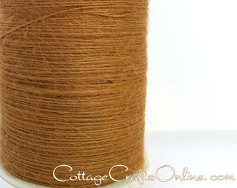 Burlap String Cord Gold - 400 YARD ROLL, Jute Twine - May Arts Antique Gold #32 - #C91086 Packaging / Twine / Thread /  Craft Ribbon