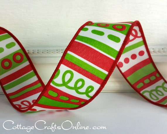 image 0 - Christmas Wired Ribbon