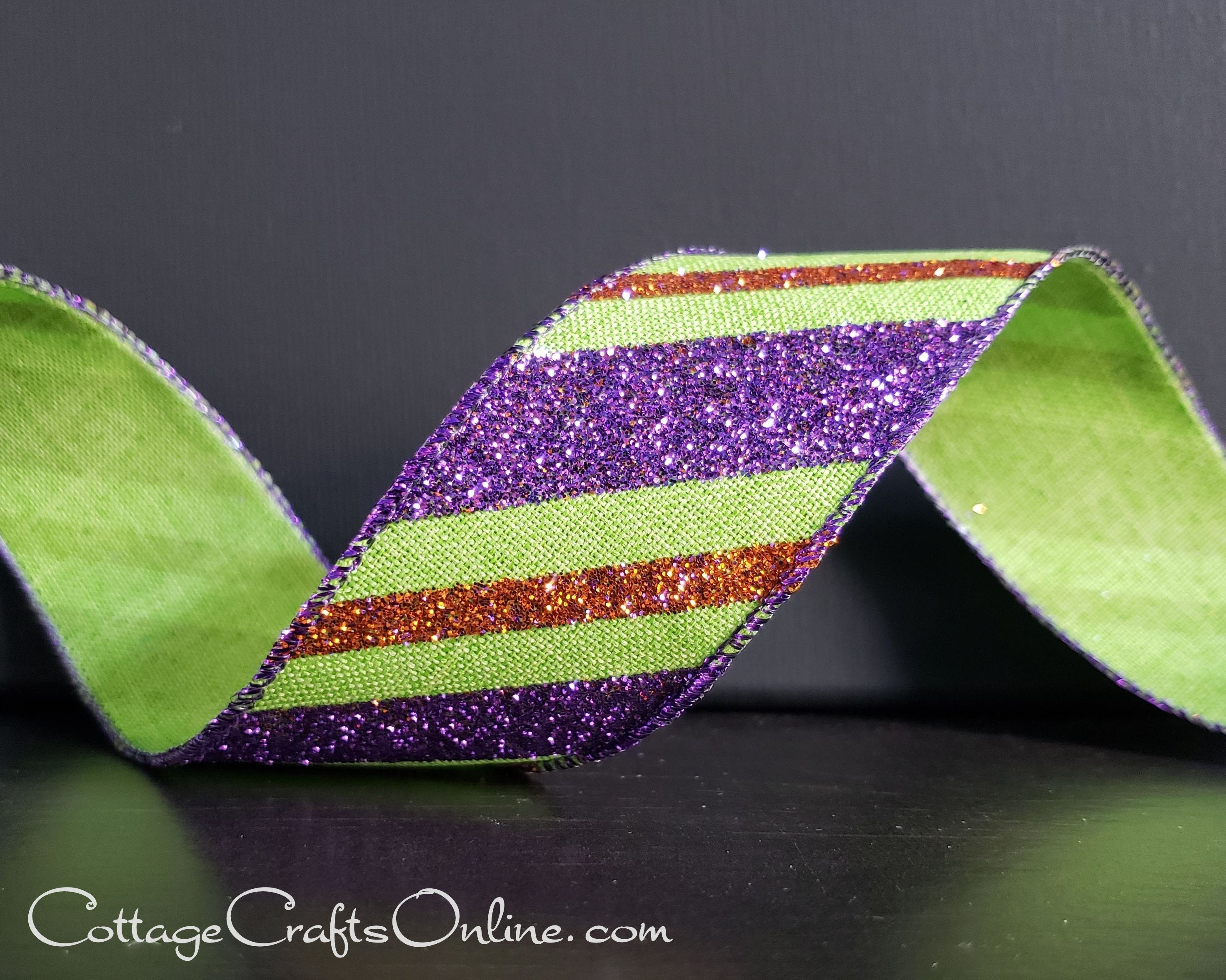 "halloween  1.5/"" wide ribbon 3 yards listing"