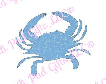 Crab - Cut File - Instant Download - SVG and DXF for Cameo Silhouette Studio Software & other Cutter Machines