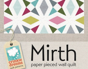 Mirth Quilt PDF sewing pattern [digital download]