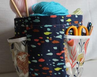 Hexy Bottom Bag PDF sewing pattern [digital download]