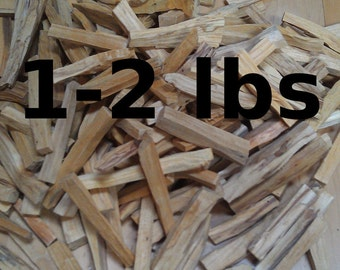 1-2 lbs (.45-.9kg) Bulk Palo Santo Holy Wood Incense Sticks, Wholesale Incense For Smudging And Tea, Best Shipping Option For Small Shops