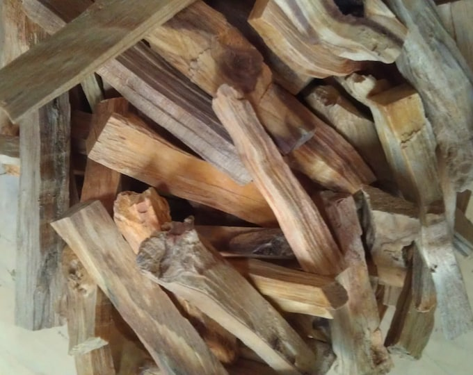 Featured listing image: Grade A Palo Santo Holy Wood Stick, Super Oily And Resinous Incense Wood, Best Incense For Lovers Of Intense Palo Santo Incense Wood