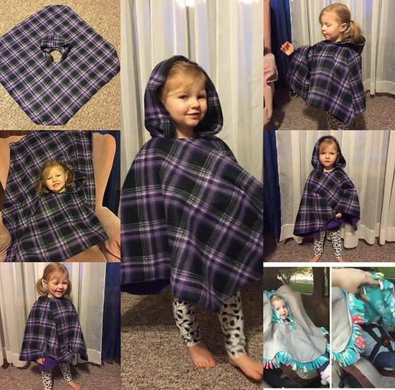 Car Seat Poncho Custom Made To Order Choose Your Own Etsy