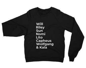 198f7eab1ed6 Sense8 Characters Sweatshirt