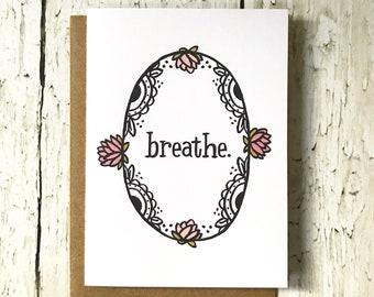 Breathe Card
