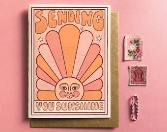 Sending You Sunshine Card - Everyday