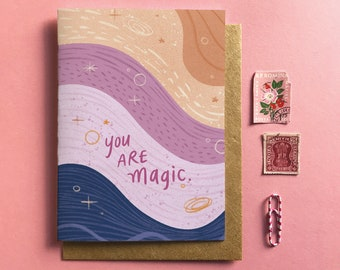 You Are Magic - Card, Everyday, Snail Mail