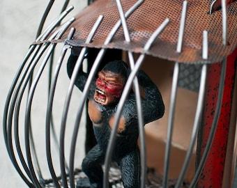 Kong Metal Illuminating Sculpture