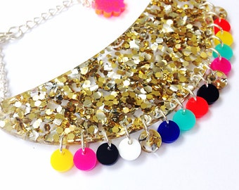 Tribal Brights Lush Collar Necklace