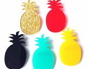 Pineapple Brooch - Choose Your Own Colour!