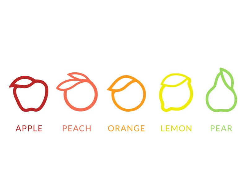 Delicate Ring Fruit ring Orange Ring Minimalist Ring Apple Ring Stacking Ring Lemon Ring Midi Ring Pinky Ring Gold ring Thin ring