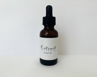 Organic Facial Oil (Pre-Made - Choose your skin type)