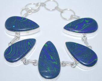 Mosaic Jasper gemstone crystal bracelet with healing properties present birthday