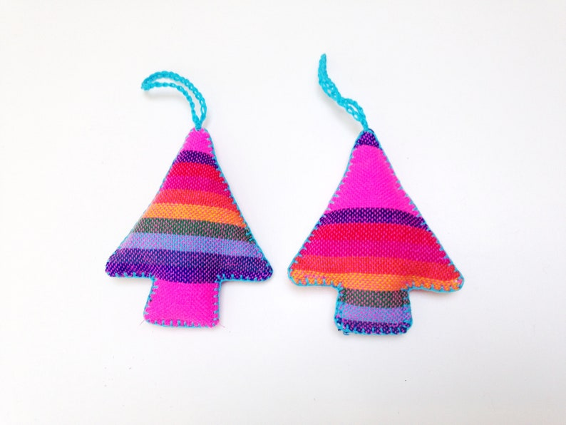 Pink Mexican Christmas Ornaments Southwestern Coniferous image 0