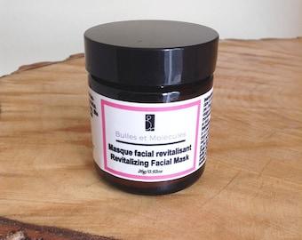 Revitalizing Facial Mask - Natural Facial Mask - Clay Mask - Natural Skincare