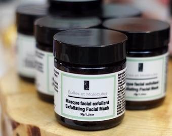 Exfoliating Green Clay Mask - Natural Facial Mask - Clay Mask - Natural Skincare
