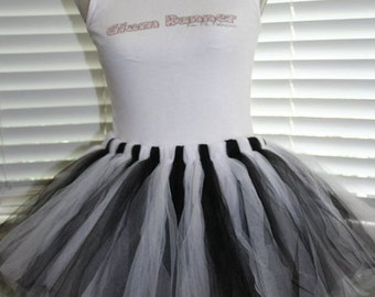 The Finish Line (Black & White) Tutu