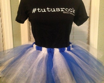 Bonnie Bluebell (Blue & White) Tutu