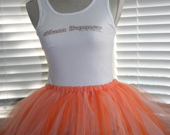 Creamsicle (Orange & White) Tutu