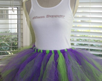 Miss TNT (Purple & Green) Tutu