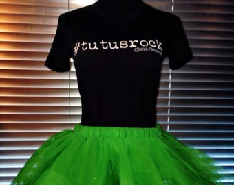 Evergreen (All Green) Tutu