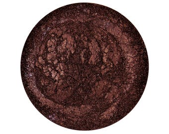 SAMPLE Chocolate- All Natural Mineral Eyeshadow Pigment (Vegan)