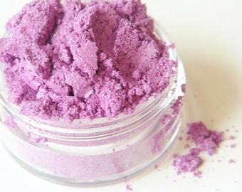 SAMPLE Purple Rain- All Natural Mineral Eyeshadow (Vegan)