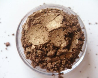 SAMPLE Golden Brown- All Natural Mineral Eyeshadow
