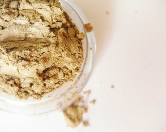 Antique Gold-All Natural Mineral Eyeshadow (Vegan)