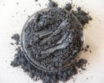 SAMPLE Onyx- All Natural Mineral Eyeshadow (Vegan)(Semi-Matte)