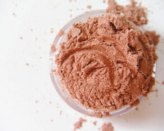 SAMPLE Terracotta Satin-All Natural Mineral Eyeshadow (Vegan)