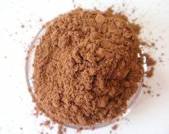 SAMPLE Espresso- All Natural Mineral Eyeshadow (Vegan)(Matte)
