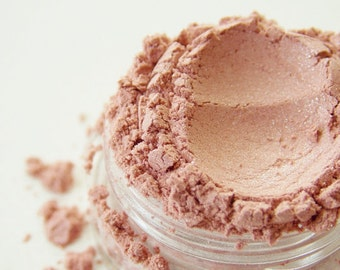 SAMPLE Peaches N' Cream- All Natural Mineral Blush (Vegan)