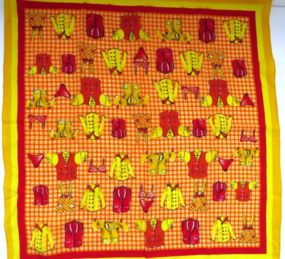 Novelty Womens Clothing Silk Scarf by Accessory St